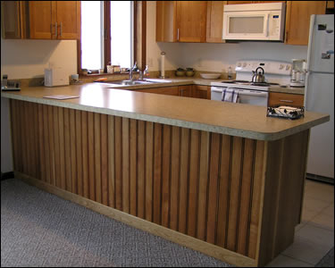 "3-1/4"" Cherry Beadboard - Completed"