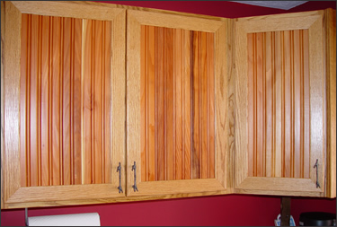 October 2015 Beadboard On Cabinets