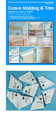 Crown Moulding Book & Templates