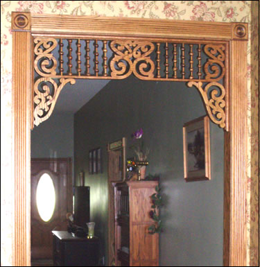 Mary Elizabeth Fretwork Spandrel